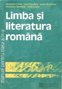 Limba si literatura romana - Manual pentru clasa a IX-a