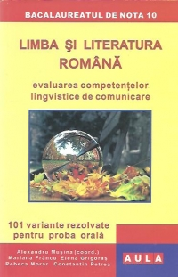 Limba literatura romana Evaluarea competentelor