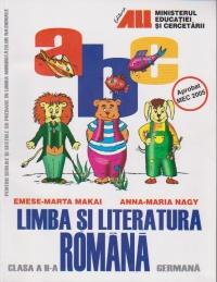 Limba si literatura romana pentru minoritatile nationale. Manual pentru clasa a II-a ( limba germana )