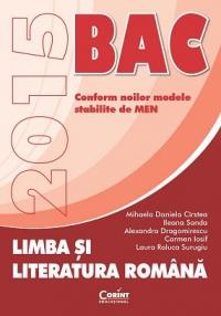 Limba si literatura romana. BAC 2015