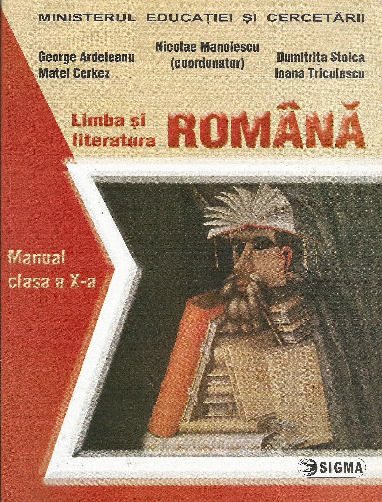 Limba literatura romana Manual (clasa