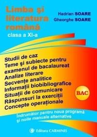 Limba si literatura romana. Indrumator pentru manualele alternative. Clasa a XI-a