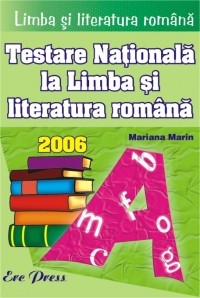 Limba literatura romana Testare Nationala