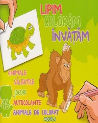 Lipim coloram invatam Animale salbatice