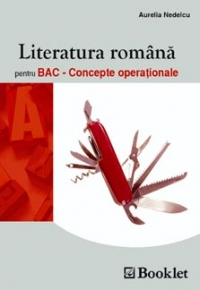 Literatura romana Bac Concepte operationale