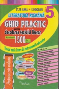 Literatura romana clasa Ghid practic