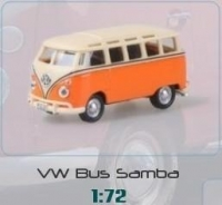 Macheta Volkswagen minibus 1:72