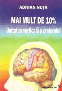 Mai mult 10% Unitatea verticala