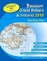 Main Road Atlas GB and Ireland A4 Spiral