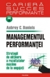 Managementul performantei Strategii obtinere rezultatelor