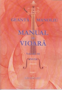 Manual vioara vol III Anexa