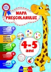 MAPA PRESCOLARULUI 4-5 ANI 2014