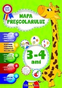 MAPA PRESCOLARULUI 3-4 ANI 2014