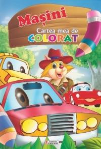 Masini Cartea mea colorat (format