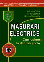 Masurari electrice. Curriculum la decizia scolii. Auxiliar pentru clasa a IX-a