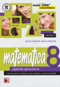 MATE 2000 CONSOLIDARE - MATEMATICA. ALGEBRA, GEOMETRIE. CLASA A VIII-A. PARTEA I (Editia a III-a, revizuita - Anul scolar 2014-2015)
