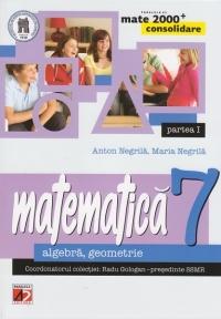 MATE 2000 CONSOLIDARE - MATEMATICA. ALGEBRA, GEOMETRIE. CLASA A VII-A. PARTEA I (Editia a III-a, revizuita - Anul scolar 2014-2015)