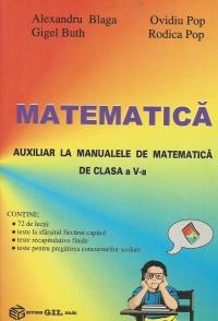 Matematica - Auxiliar la manualele de matematica de clasa a V-a