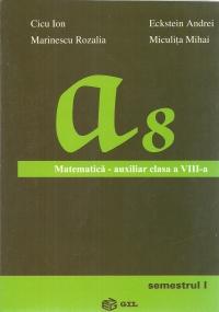 Matematica - Auxiliar pentru clasa a VIII-a (semestrul I)