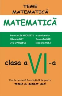 Matematica clasa a VI-a, partea I