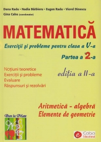 Matematica Exercitii probleme pentru clasa