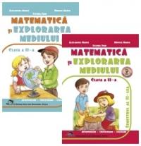 Matematica si explorarea mediului Clasa a II-a - Set Semestrul I + Semestrul al II-lea