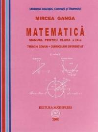 Matematica manual pentru clasa trunchi