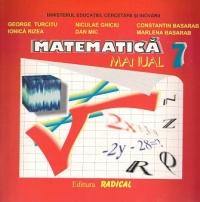 Matematica Manual pentru clasa VII