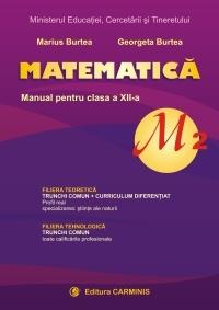 Matematica M2. Manual pentru clasa a XII-a