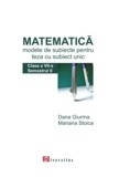 Matematica Modele teste pentru teza