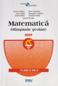 Matematica. Olimpiade scolare 2009, clasa a VIII-a