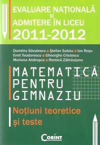 Matematica pentru gimnaziu Notiuni teoretice