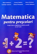 Matematica pentru prescolari - grupa mare, pregatitoare pentru scoala (5, 6/7 ani)