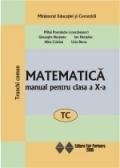 Matematica (TC). Manual pentru clasa a X-a