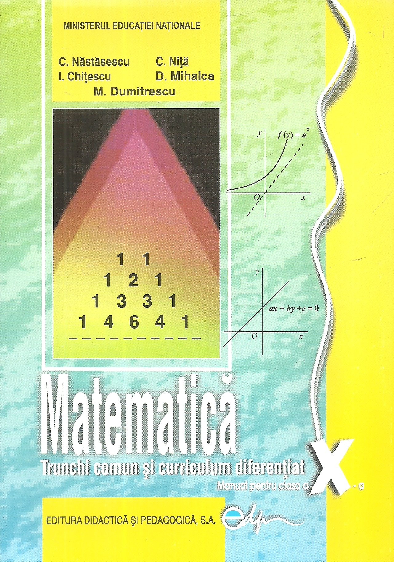 Matematica Trunchi comun curriculum diferentiat