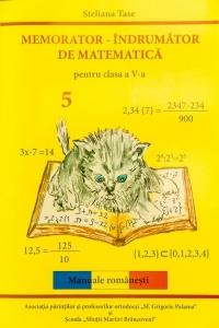 Memorator - Indrumator de matematica. Clasa a V-a