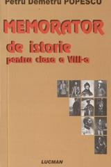 Memorator istorie pentru clasa