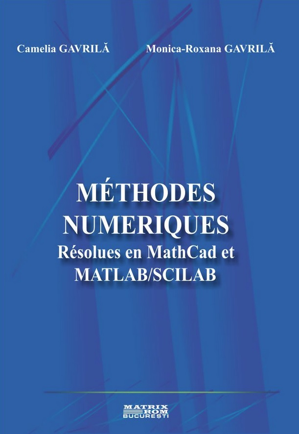 Methodes numeriques Resolues MathCad MATLAB/SCILAB