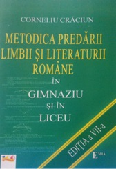 METODICA PREDARII LIMBII LITERATURI ROMANE
