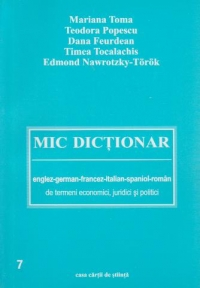 Mic dictionar englez german francez