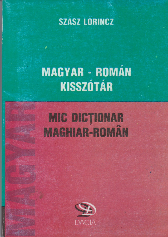 Mic dictionar maghiar roman