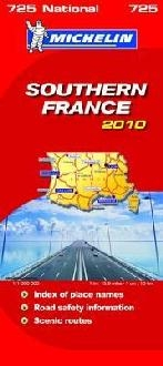 Michelin National Maps - Southern France 2010