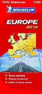 Michelin National Maps Europe 2010
