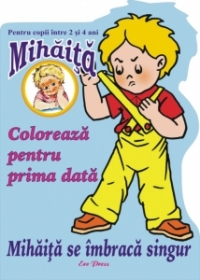 Mihaita se imbraca singur