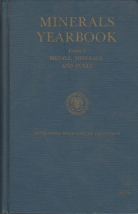 Minerals yearbook (Volume Metals minerals