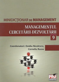Minidictionar management (9) Managementul cercetarii