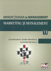 Minidictionar de management (13) - Marketing si management