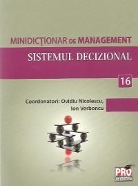 Minidictionar management (16) Sistemul decizional