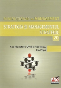 Minidictionar management (20) Strategia Managementul