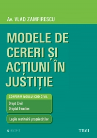 Modele cereri actiuni justitie